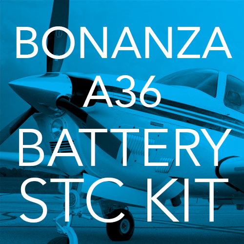 Bonanza A36 Lithium-ion Battery STC Kit