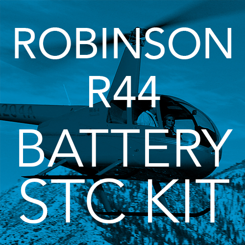 Robinson R44 Lithium-ion Battery STC Kit