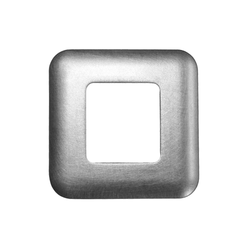 Front mount, Standard square cover plate