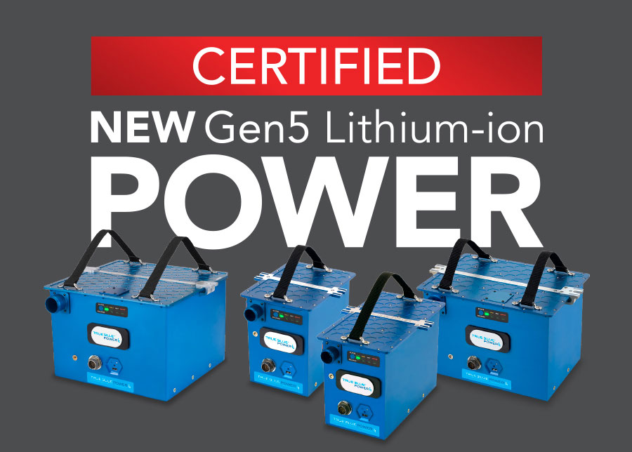 New Gen5 Lithium-ion Avation Batteries